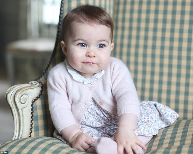 Kate and William release new photos of Princess Charlotte