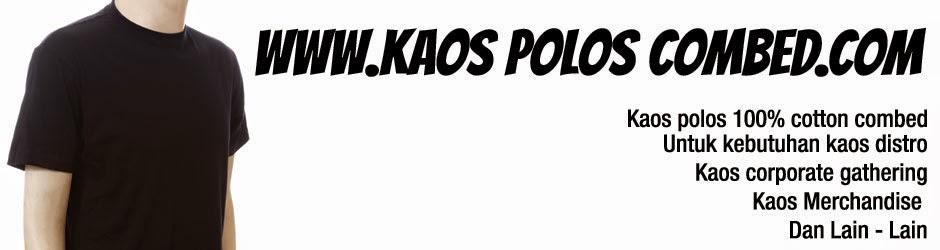 Kaos Polos Bahan Combed Sablon Kaos Murah