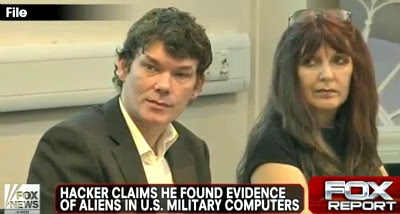 UFO Hacker Gary McKinnon & His Mum, Janis Sharp