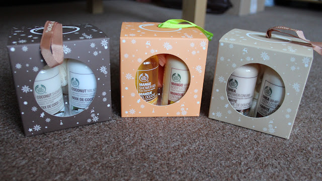 Christmas Gifts #2 - Body Shop Stocking Fillers