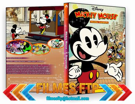 Mickey Mouse 1ª Temporada 2014 DVD-R OFICIAL