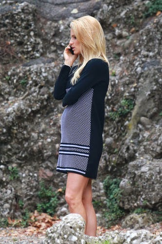 Michelle Hunziker pregnant