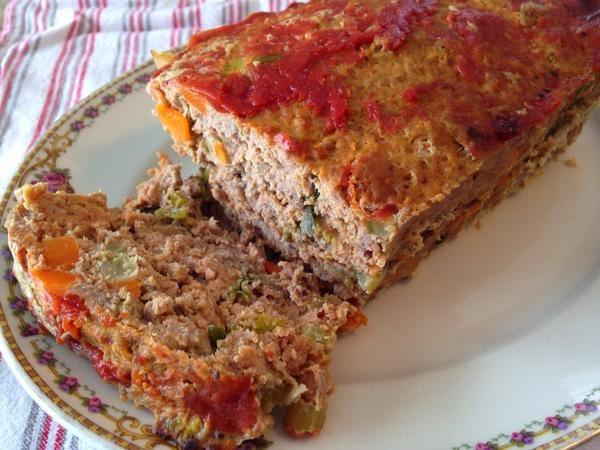 Chicken & Vegetable Meatloaf