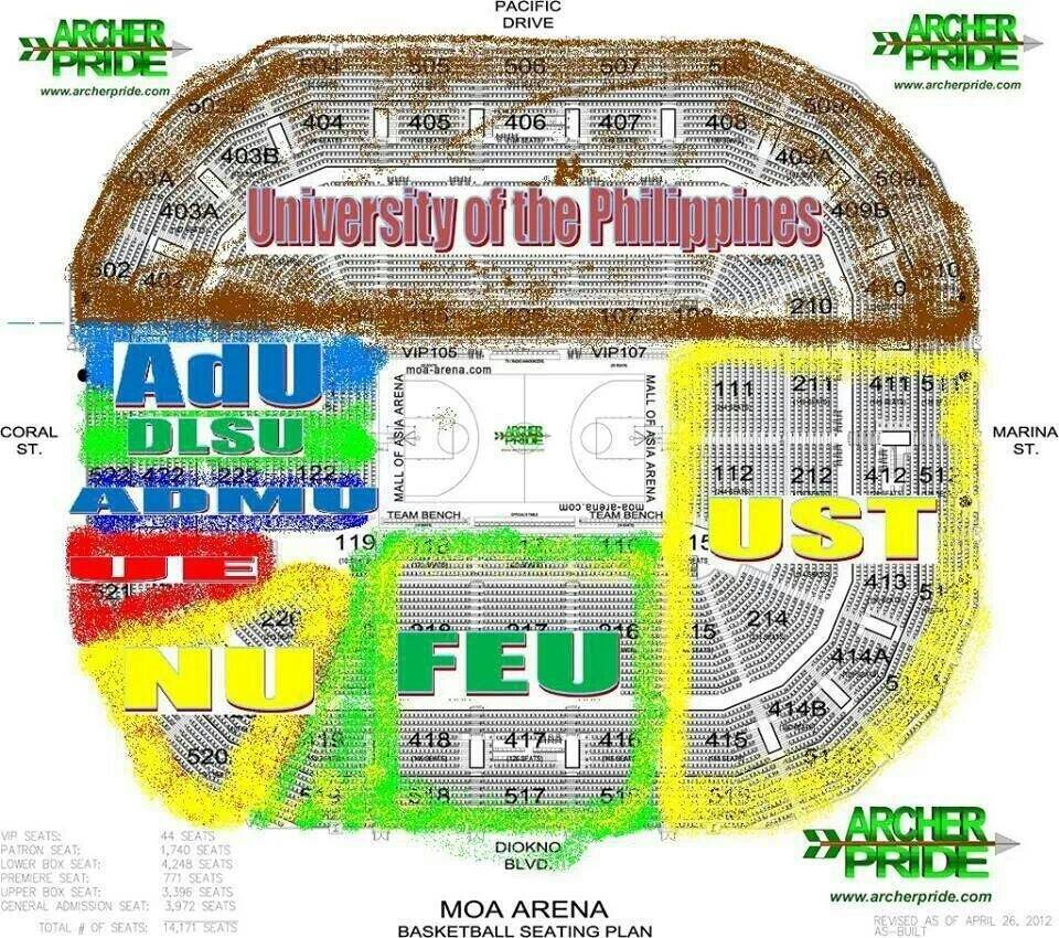 UAAP 76 Cheerdance Competition 2013 Schedule, and Ticket Prices