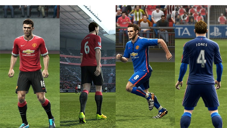 PES 2013 Manchester United 14/15 GDB v.2 by Vulcanzero