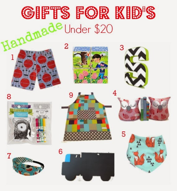 Handhame Kid's gift ideas for Under $20. Great christmas od birthday gift ideas from Australian hand crafters. Support local small businesses this Christmas! www.lovethatparty.com.au