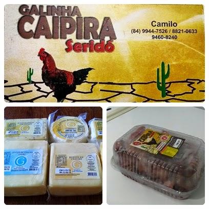 Galinha Caipira do Seridó é com Camilo