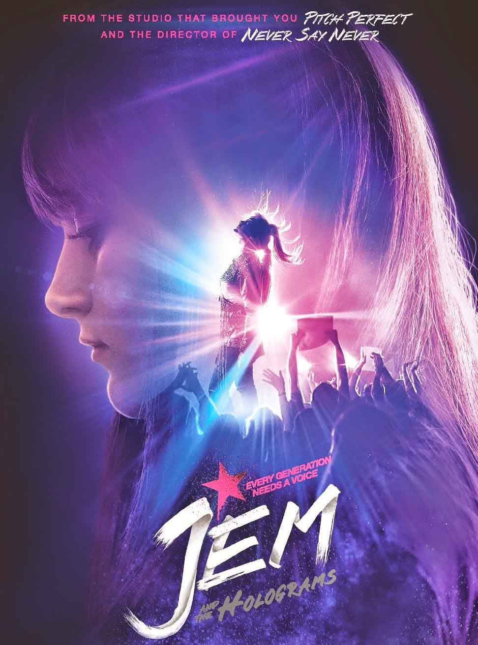 Jem e as Hologramas Torrent - Blu-ray Rip 720p e 1080p Dublado (2016)