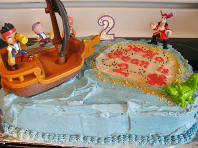Jake and the Neverland Pirates cake | Retro Gran
