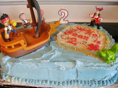 Jake and the Neverland Pirates cake | Retro Gran