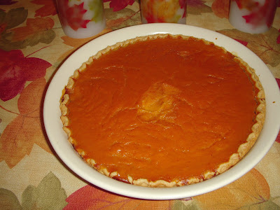 Margaret's Morsels | Pumpkin Pie
