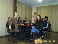 Reunião com o professor e supervisor do PIBID, Carlos José (Maninho)