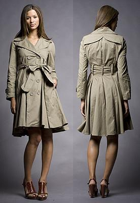 feaa569f1c268 o trench coat como vestido