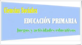 Conjunto de juegos y actividades de Ciencias Sociales de Primaria