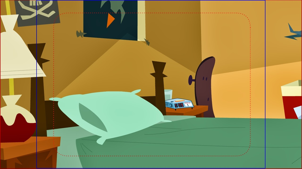 Cartoon Bedroom Background Production Bg 39 S From Johnny