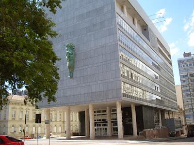 Palácio da Justiça Porto Alegre - Arquitetura Moderna