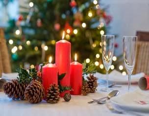 Centros de Mesa de Navidad Rojos, parte 6