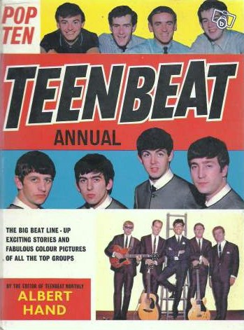 Pop Ten TEENBEAT Annual 1965. Publié par Phil Taylor à l'adresse 12:51
