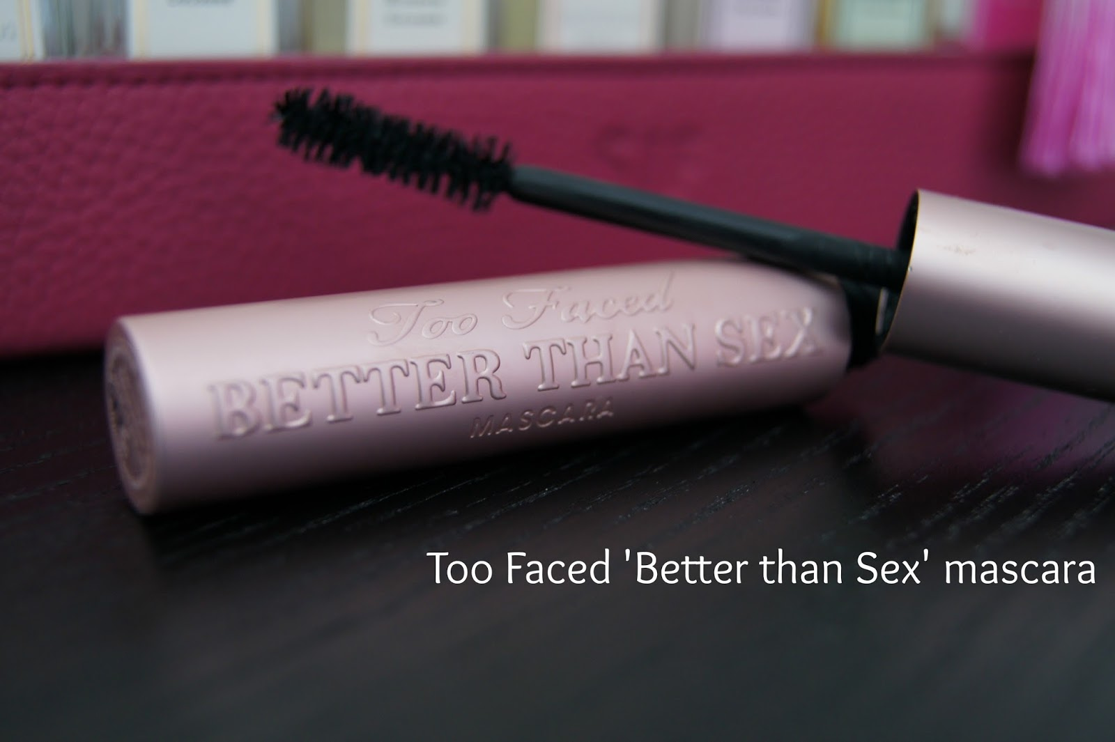 Too Faced Better than Sex mascara review