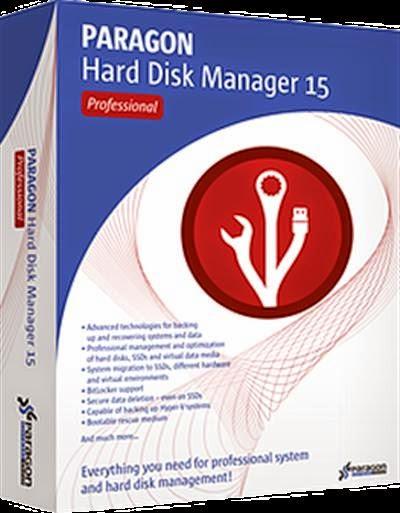 Paragon Hard Disk Manager 15 crack free download