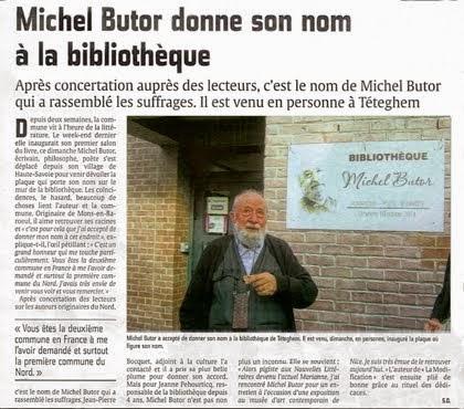 Une première bibliothèque Butor dans le Nord