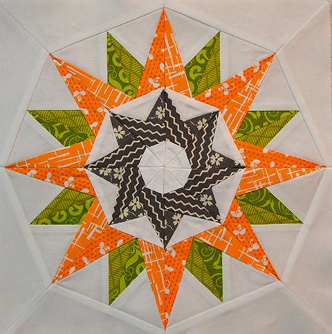 Kaleidoscope Block Quilt