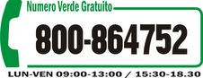 Chiama il Numero Verde Gratuito dedicato