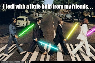 I Jedi with a little help from my friends