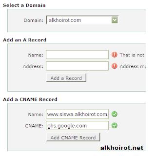 cname record www