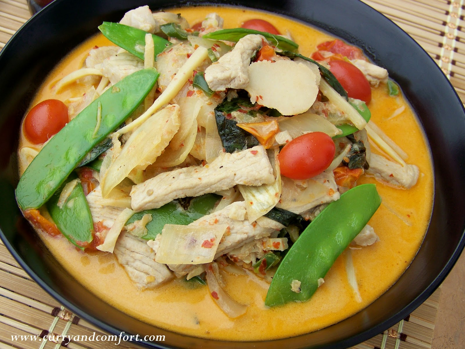 Kitchen simmer thai ginger pork curry thai ginger pork curry forumfinder Image collections