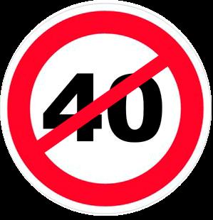 40 лет не отмечают день рождения почему