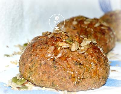 pan de espinacas integral