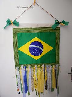 Panô Bandeira do Brasil