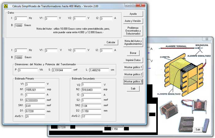 Mouse fisica calculo simplificado de transformadores