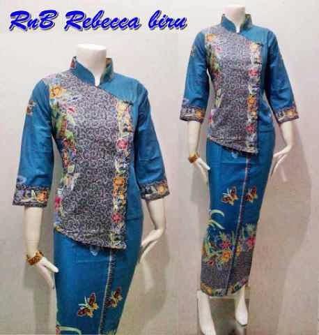 Setelan Blouse Batik Atas Bawah Seri Rebecca Batik
