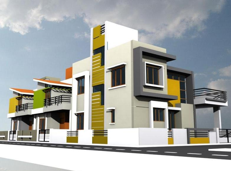 Attractive Revit Architecture Residential House Design