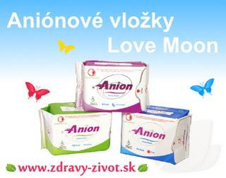 Aniónové vložky Love Moon