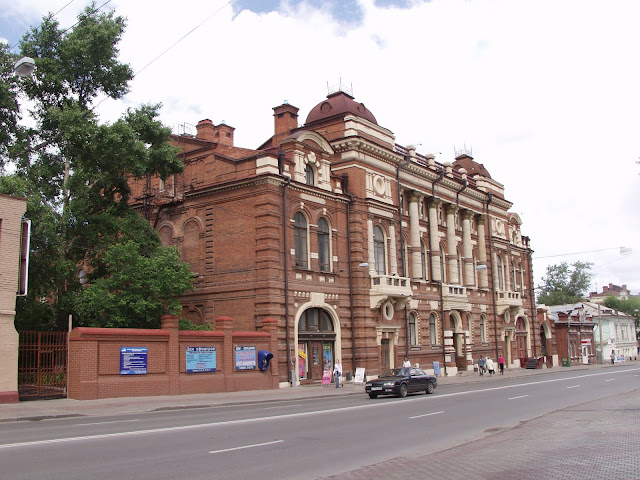 старые здания томска