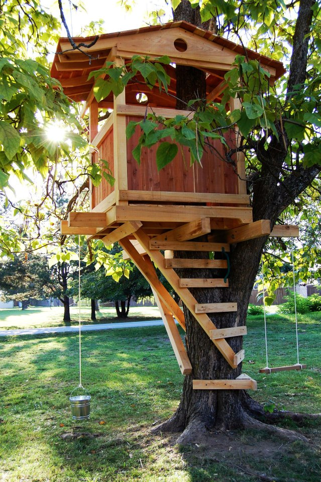 Natural State Treehouses Inc Gordon Family Treehouse