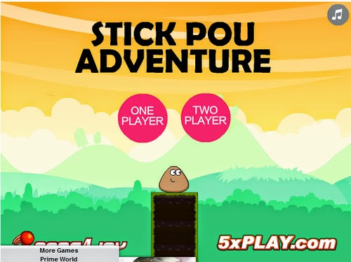 http://eplusgames.net/games/pou_stick_adventure/play