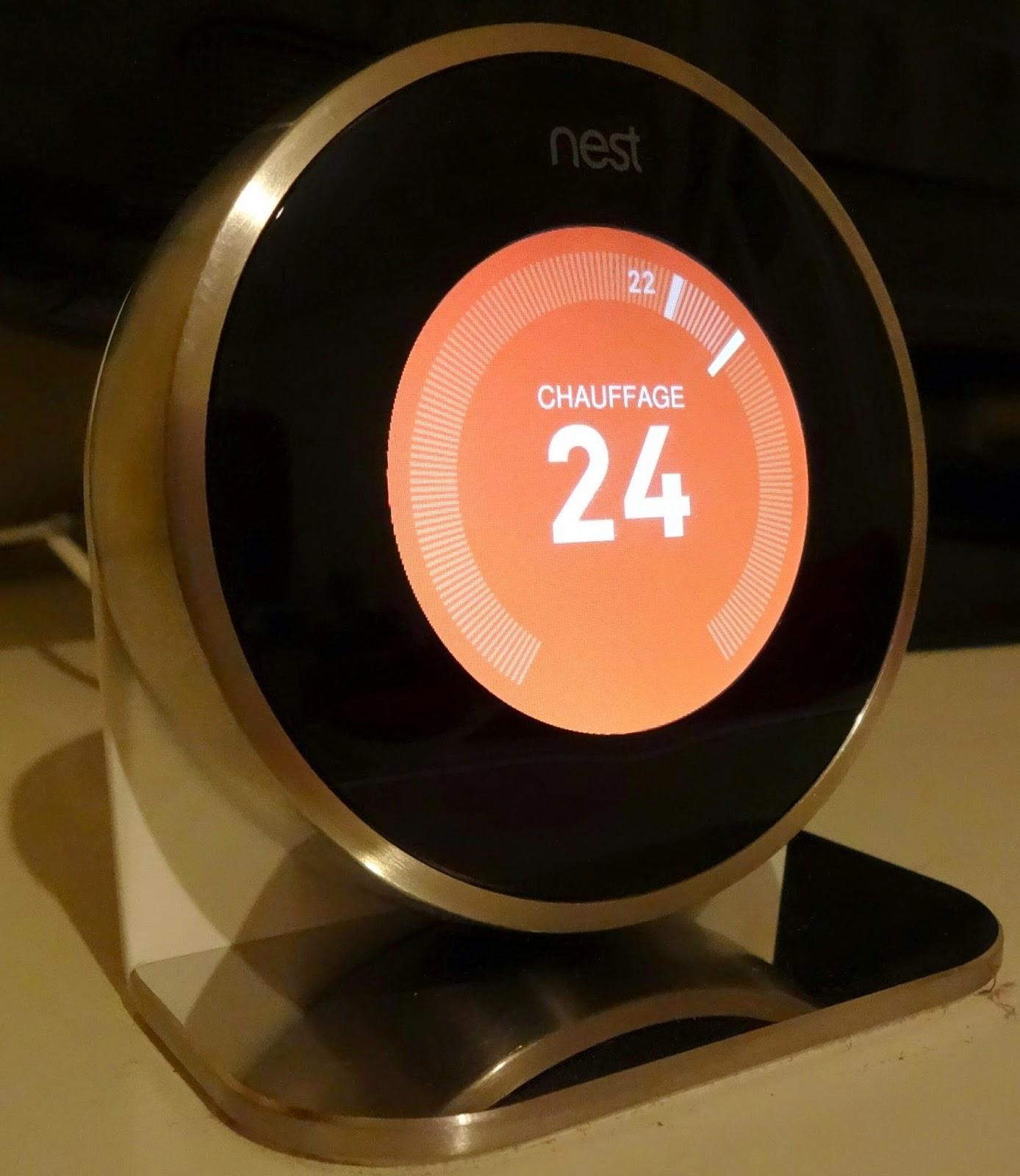 Mes droldids installer un thermostat connect nest - Thermostat connecte nest ...