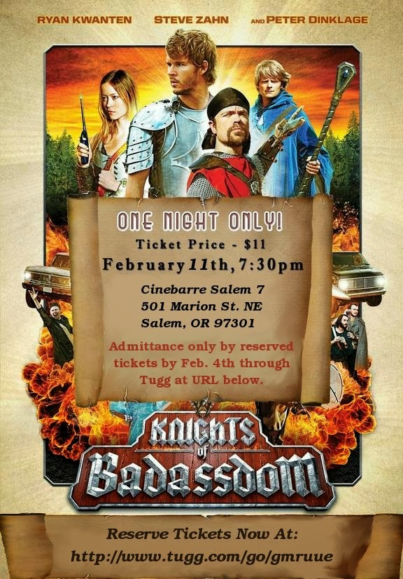 Knights of Badassdom Screening Flyer