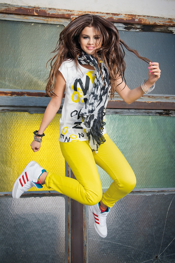 Selena Gomez poses for Adidas Neo Photoshoot