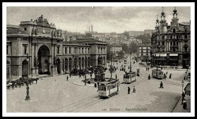 Bahnhofplatz zurich