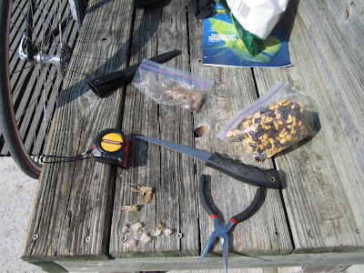 fishing equipment I used at Key Biscayne