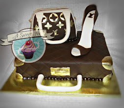 Louis Vuitton Fashionista Cake