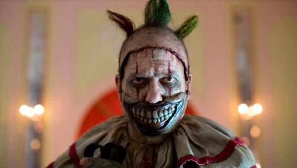 Diabolico payaso de American Horror Story Freak Show