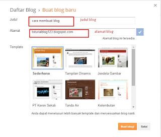 cara membuat blog gratis dengan sangat mudah dan praktis