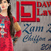 Chiffon Lawn Collection 2014-2015 | Dawood Zam Zam Chiffon Lawn Dresses
