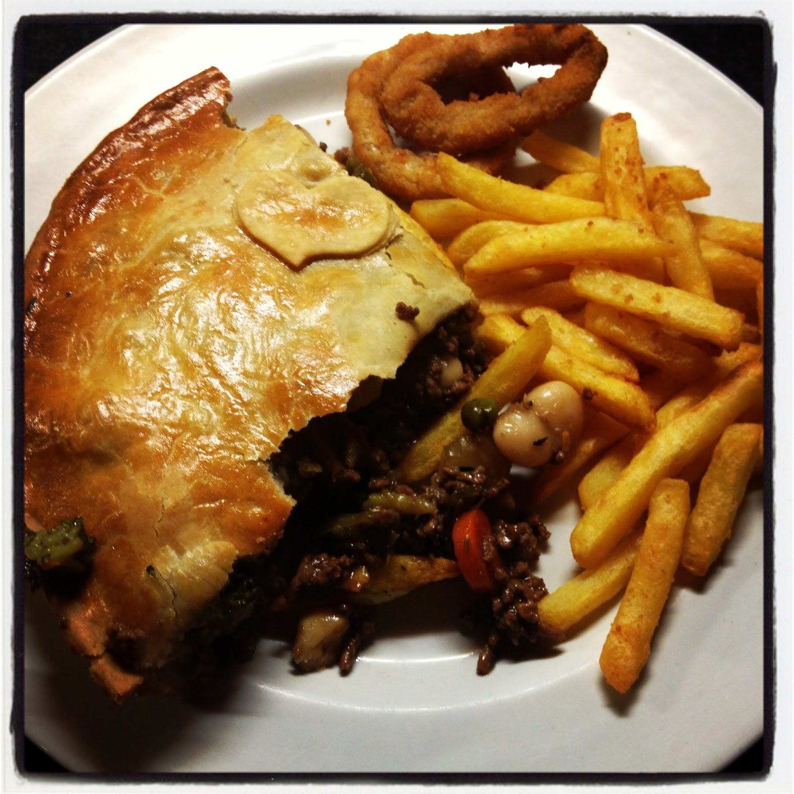 Minced Beef Pie and Chips & A Kick At The Pantry Door: Minced Beef Pie: A Real Kick at the ...